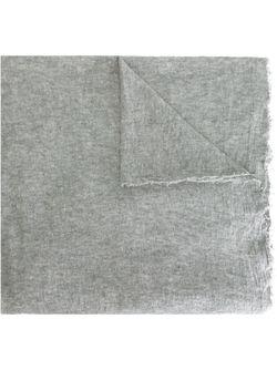 Широкий Шарф С Бахромой Faliero Sarti                                                                                                              серый цвет