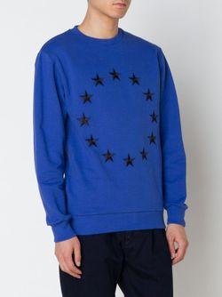 Etoile Embroidered Sweatshirt ÉTUDES STUDIO                                                                                                              синий цвет