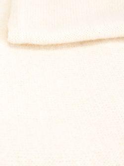 Трикотажный Шарф С Вышивкой Ermanno Scervino                                                                                                              Nude & Neutrals цвет