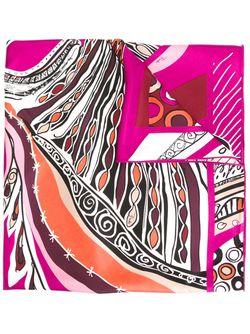Шарф С Абстрактным Принтом Emilio Pucci                                                                                                              многоцветный цвет