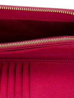 Континентальный Кошелек York Tory Burch                                                                                                              розовый цвет