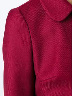 Укороченный Жакет С Фестончатой Отделкой Red Valentino                                                                                                              красный цвет