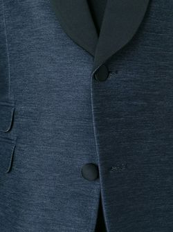 Блейзер С Контрастными Лацканами Neil Barrett                                                                                                              синий цвет