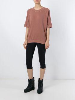 Укороченные Леггинсы Adidas Originals By Kanye West YEEZY                                                                                                              серый цвет