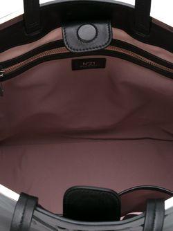 Сумка-Шоппер С Тиснением Логотипа No21                                                                                                              чёрный цвет