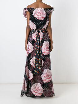 Вечернее Платье С Розами Vivienne Westwood Gold Label                                                                                                              многоцветный цвет