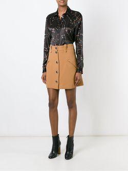 Рубашка С Принтом Созвездий MSGM                                                                                                              коричневый цвет