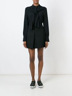Блузка С Завязками MSGM                                                                                                              чёрный цвет
