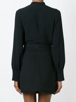Блузка С Завязками MSGM                                                                                                              черный цвет