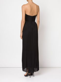 Strapless Bustier Evening Dress Maria Lucia Hohan                                                                                                              чёрный цвет
