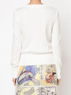Толстовка С Пайетками Tsumori Chisato                                                                                                              белый цвет