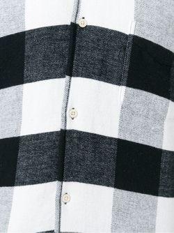 Рубашка В Клетку 1950s Our Legacy                                                                                                              черный цвет
