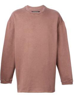 Свободная Толстовка Adidas Originals By Kanye West YEEZY                                                                                                              розовый цвет
