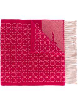 Шарф Gancio Salvatore Ferragamo                                                                                                              розовый цвет