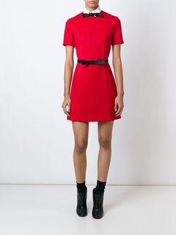 Платье А-Образного Силуэта Carven                                                                                                              красный цвет