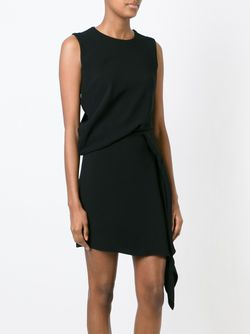 Драпированное Платье Mcq Alexander Mcqueen                                                                                                              черный цвет