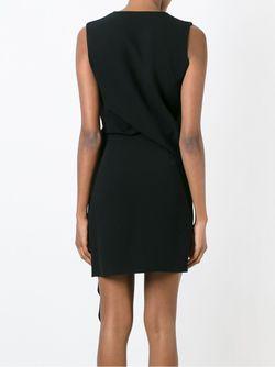 Драпированное Платье Mcq Alexander Mcqueen                                                                                                              чёрный цвет