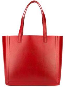Большая Сумка-Шоппер Loeffler Randall                                                                                                              красный цвет