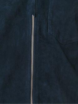 Куртка На Молнии С Нагрудным Карманом Our Legacy                                                                                                              синий цвет