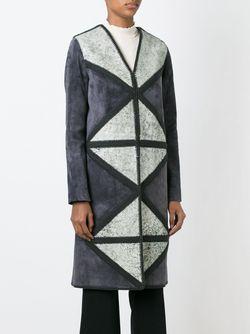 Пальто С Вышивкой Tory Burch                                                                                                              серый цвет