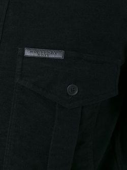 Рубашка С Нагрудными Карманами Burberry Brit                                                                                                              чёрный цвет