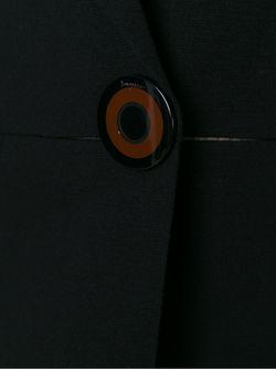 Блейзер С Застежкой На Одну Пуговицу Salvatore Ferragamo                                                                                                              черный цвет