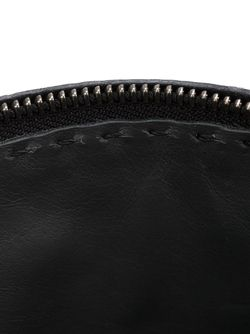 Stitched Detail Make-Up Bag Henry Beguelin                                                                                                              серый цвет