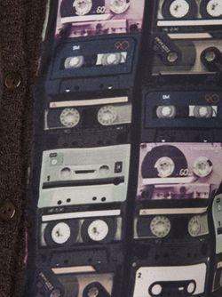 Кардиган С Принтом Аудиокассет Carven                                                                                                              коричневый цвет