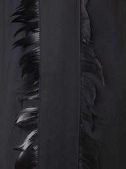 Брюки С Отделкой Из Перьев Nina Ricci                                                                                                              чёрный цвет