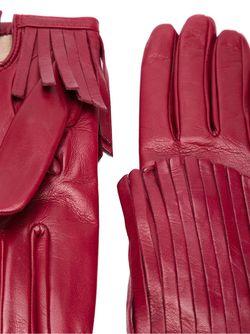 Перчатки С Бахромой Gala                                                                                                              красный цвет