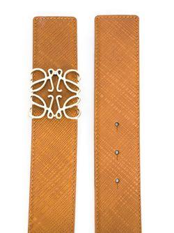 Ремень С Пряжкой-Анаграммой Loewe                                                                                                              коричневый цвет