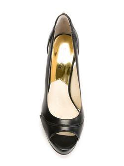 Туфли С Открытым Носком Michael Michael Kors                                                                                                              чёрный цвет