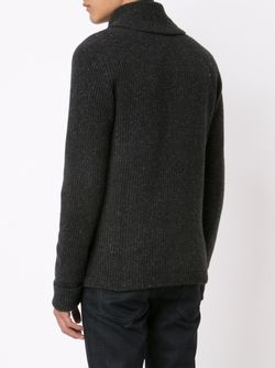 Ribbed Shawl Collar Cardigan RRL                                                                                                              серый цвет
