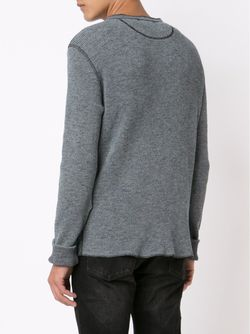 Henley Long Sleeve T-Shirt RRL                                                                                                              синий цвет