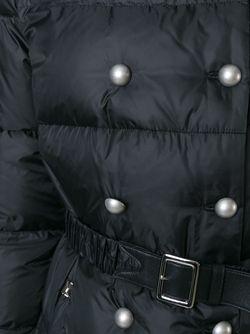 Belted Padded Coat Ermanno Scervino                                                                                                              черный цвет