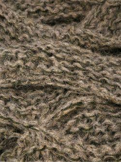 Трикотажное Платье-Шарф Masnada                                                                                                              коричневый цвет