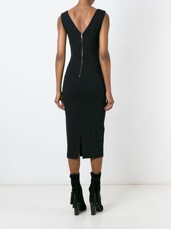 Платье С V-Образным Вырезом На Спине Antonio Marras                                                                                                              черный цвет
