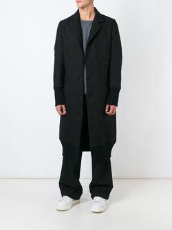 Удлиненное Пальто SOCIETE ANONYME                                                                                                              чёрный цвет