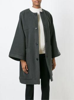 Пальто Мешковатого Кроя SOCIETE ANONYME                                                                                                              серый цвет