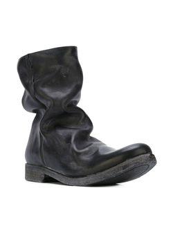 Байкерские Ботинки С Потертой Отделкой Poème Bohèmien                                                                                                              чёрный цвет