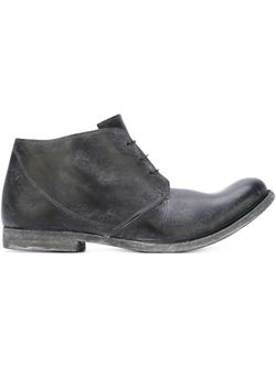 Ботинки С Потертой Отделкой Poème Bohèmien                                                                                                              черный цвет