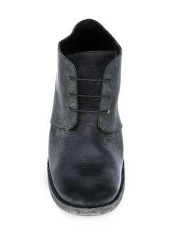 Ботинки С Потертой Отделкой Poème Bohèmien                                                                                                              чёрный цвет