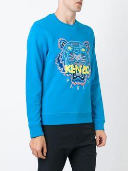 Толстовка Tiger Kenzo                                                                                                              синий цвет