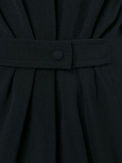 Приталенное Платье С V-Образным Вырезом На Спине Tom Ford                                                                                                              чёрный цвет