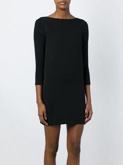 Платье С Драпировкой На Спине Tom Ford                                                                                                              черный цвет
