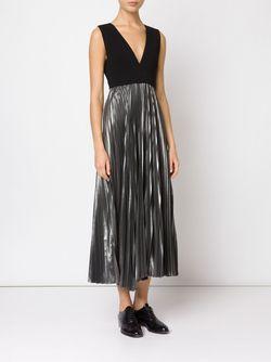 Emilia Pleated Dress A.L.C.                                                                                                              чёрный цвет
