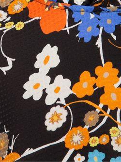 Блузка С Цветочным Принтом Preen By Thornton Bregazzi                                                                                                              серебристый цвет