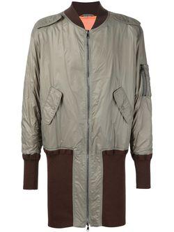 Пальто-Бомбер Wadded Ma-1 Vivienne Westwood                                                                                                              серый цвет