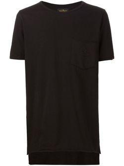 Футболка С Неравномерным Подолом Vivienne Westwood                                                                                                              черный цвет