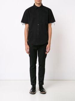 Рубашка С Короткими Рукавами Unif                                                                                                              черный цвет